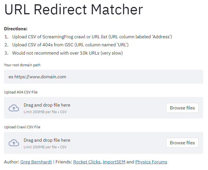 seo python redirect matcher